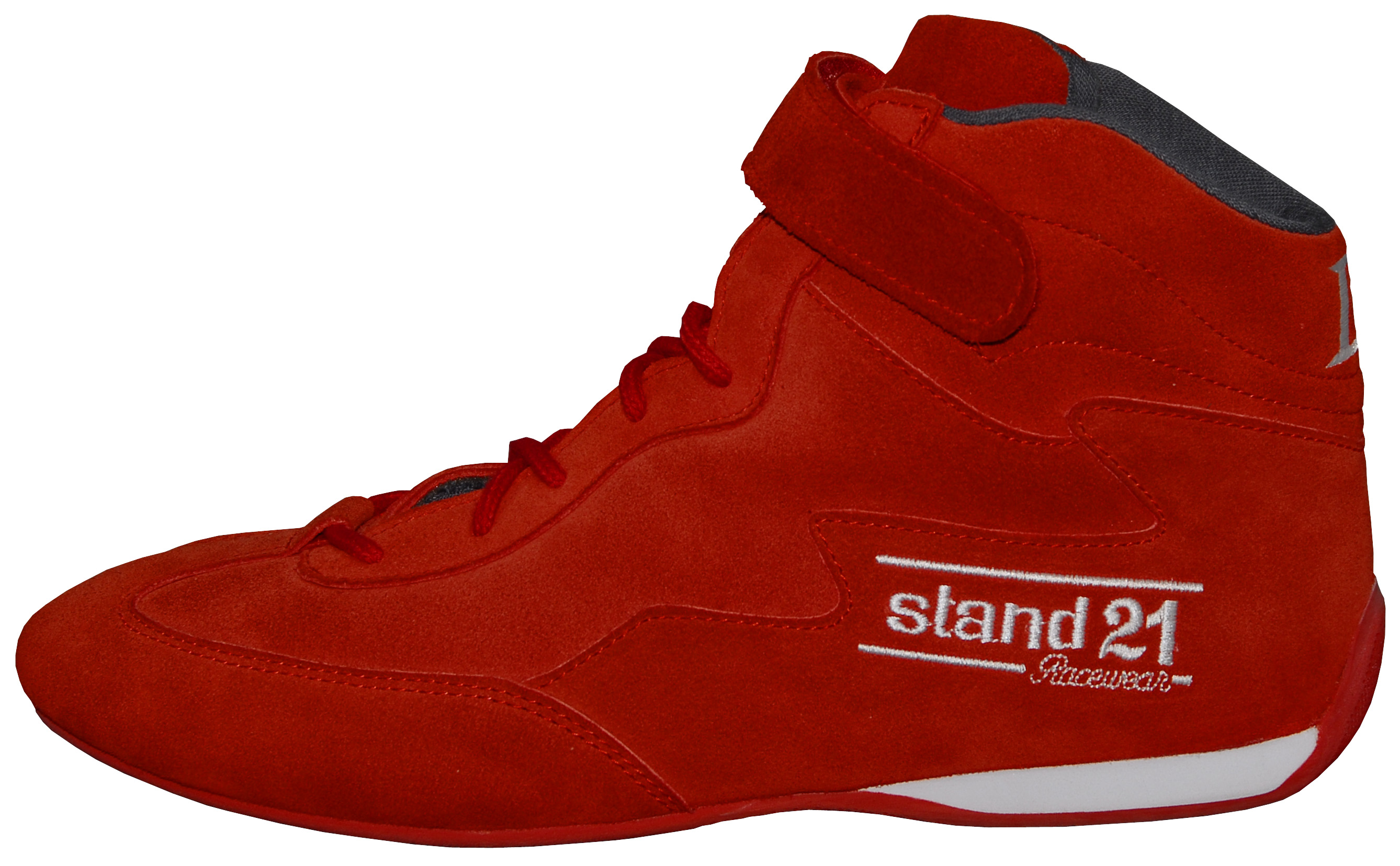 Stock red Daytona II boots