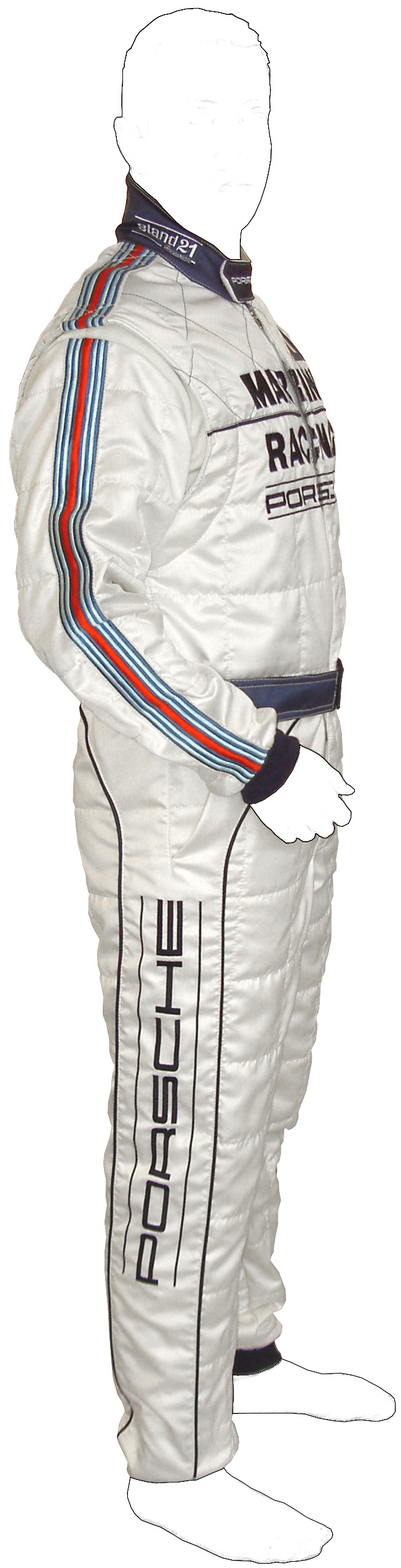 Stock Porsche Vintage ST221 HSC racing suit