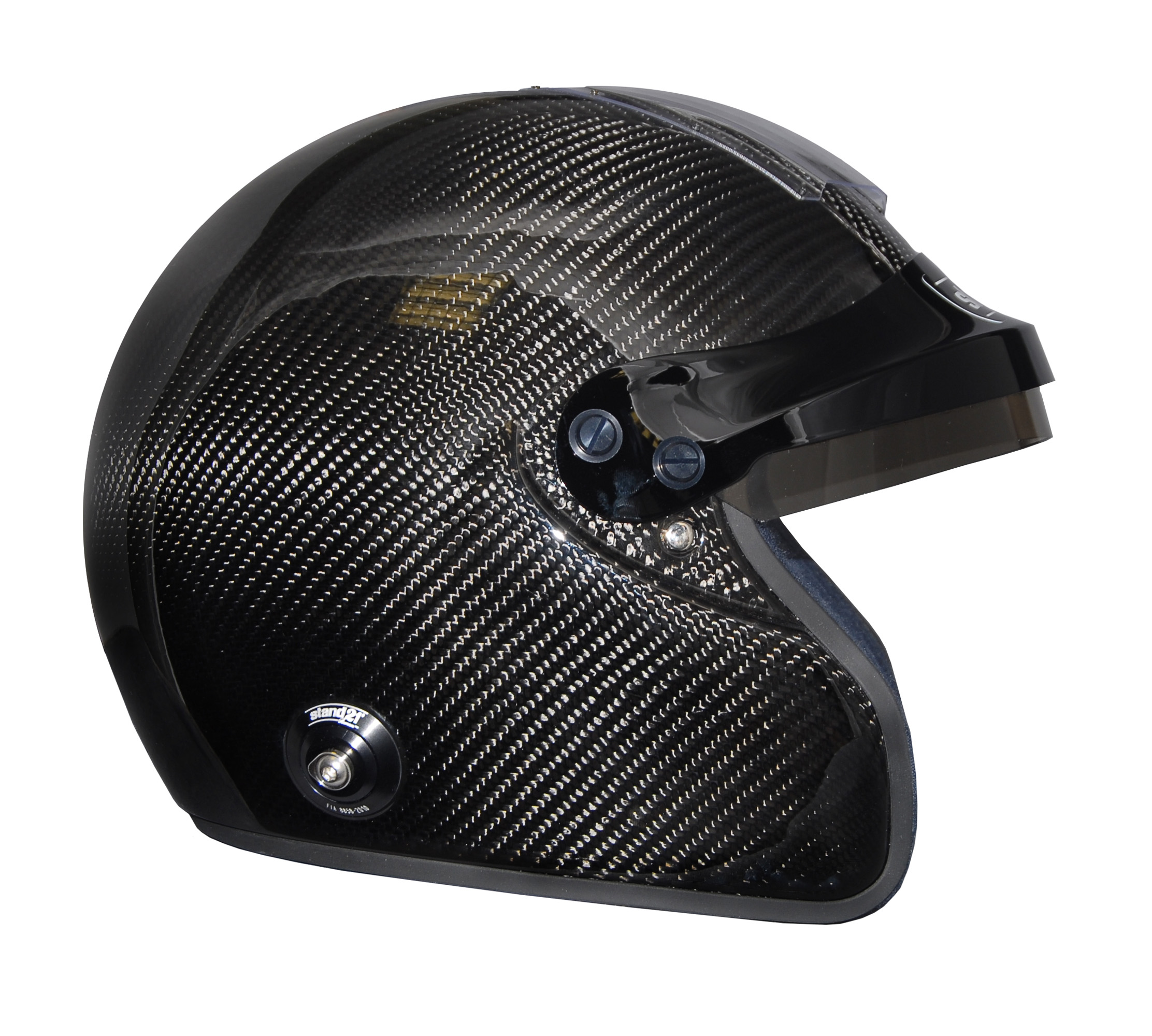 Stock IVOS Open Face Double Duty helmet with peak