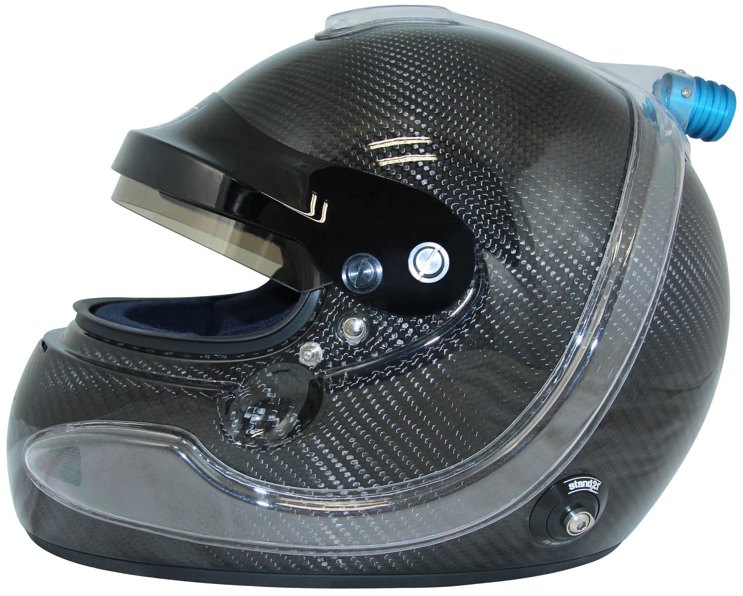 IVOS-Air Force helmet with Global Air Force air intake